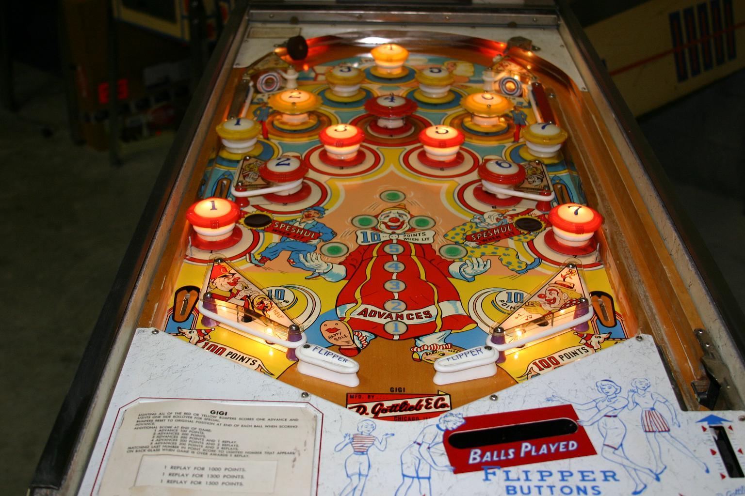 original pinball machine