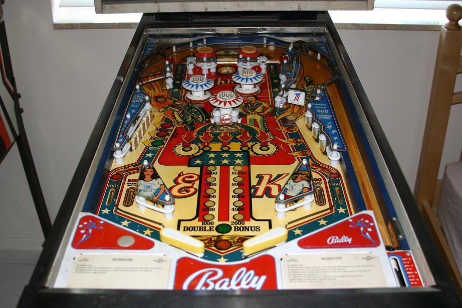 evel knievel pinball machine for sale
