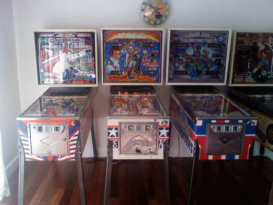 1977 Bally Evel Knievel Pinball Machine 2
